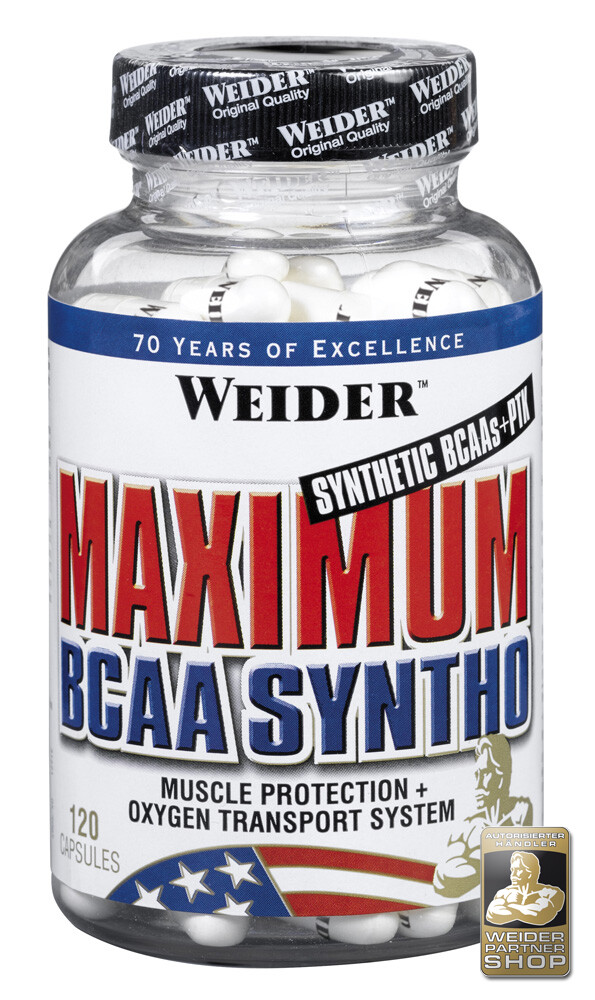 Weider Nutrition Maximum BCAA Syntho